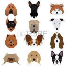 puppy clipart cute puppies scrapbooking puppy graphics pitbull rh pinterest com dog breed vector art dog face vector art
