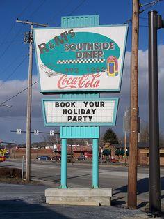 R's Southside Diner in Mt Vernon, Ohio.