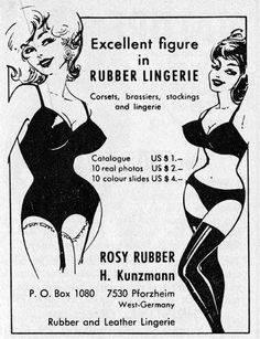 H. Kunzmann ad from 1964. Visit Kunzmann's website at www.kunzmann.com and follow on twitter @AtelierKunzmann