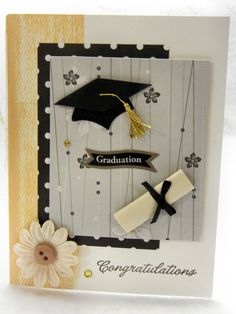 Homemade Graduation Invitation Ideas Best Of Best Templates Homemade Graduation Cards Graduation Cards Handmade, Graduation Crafts, Graduation Invitations, Handmade Birthday Cards, Graduation Ideas, Diy And Crafts, Paper Crafts, Congratulations Card, Cool Cards