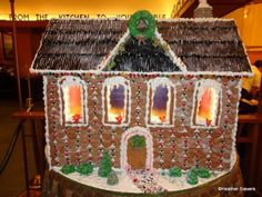 Gingerbread House at Storytellers Cafe