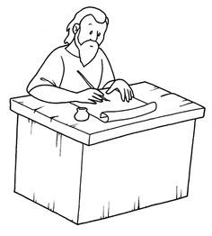 St Paul The Apostle Colouring Pages