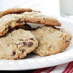 Low Fat Chewy Chocolate Chip Oatmeal Cookies | Oatmeal, Chips and ...