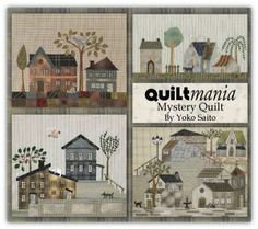 Yoko Saito's Mystery Quilt Block of the Month