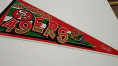 San Francisco 49ers Vintage 1995 Full Size #Football Pennant #NFL Collectables from $16.0