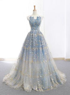 A-Line Blue Tulle Strapless Neck Floor Length Wedding Dress #promdress#promdress2019#promdresscheap#promdresssrping#promdresssummer#promdressstore#promdressproduct#kemedress#promdresstoday#promdressunder100#promdressdiscount