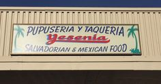 Great pupusas and prices at Restaurante Yesenia