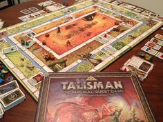 My buddy Dan and I were absolutely addicted to this awesome board game.