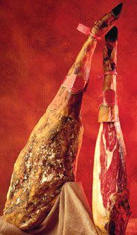 www.patanegrakoning.nl  00 31 0644538529  Our chef's favorite ham is Spanish iberico.