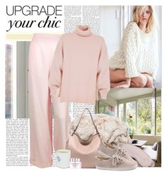 """Cozy"" by polybaby ❤ liked on Polyvore featuring Victoria's Secret, Chanel, TIBI, MKF Collection, Slip, Keds, Lancôme and cozychic"