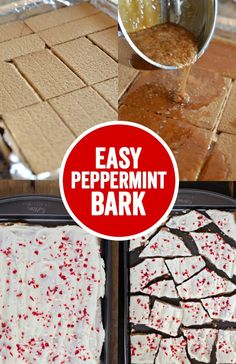 ... cracker crunch and creamy peppermint white chocolate! Perfect for