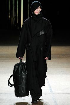 A Maxi Coat by Damir Doma Fall 2012