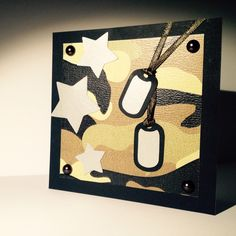 Love this ARMY style card