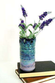 Vase / Handmade WheelThrown Ceramic Pottery/ by RiverStonePottery, $50.00