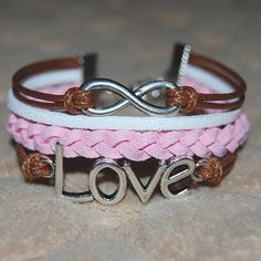 infinity bracelet Love Bracelets, Cuff Bracelets, Infinite, Diy Jewelry, Handmade Jewelry, Fashion Ideas, Scarves, Dreams, Hardware Pulls