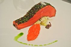 Ocean trout at Tetsuyas, Sydney