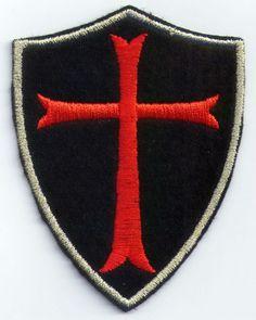 Encontrar Más Parches Información acerca de Rojo crucifijo cruz bordado de…