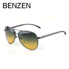 182721c734f30 BENZEN Men Polarized Sunglasses Day   Night Vision Men Driving Glasses  Oculos De Sol Masculino With Case Price history.