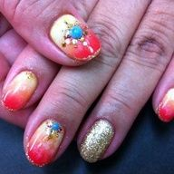 nail art - Nail summer