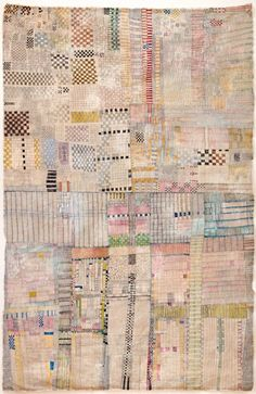 (pattern/color inspiration) _ Huguette Caland -- Beirut ___ 133x86cm, mixed media on canvas, 2008