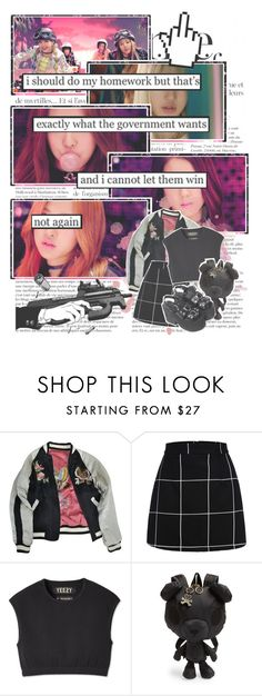 """""""BOOMBAYAH By. BLACKPINK"""" by josi-heart ❤ liked on Polyvore featuring Anja, Isabel Marant, LeSportsac and UNIF"""