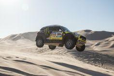 Taking Mini's Dakar-winning rally car for a dune-jumping ride | Motoramic - Yahoo Autos