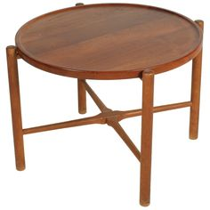Knock Down Occasional Table by Hans J. Wegner | From a unique collection of antique and modern side tables at https://www.1stdibs.com/furniture/tables/side-tables/