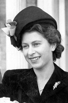 La princesse Elizabeth le 3 novembre 1947