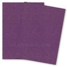 Curious Metallic - VIOLETTE Paper - 80lb Text - 8.5 x 11 - 50 PK - PAPER-PAPERS.COM