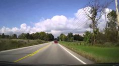 Driving through the country of Medina and Lorain Counties in Ohio