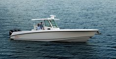 Learn more about the new Boston Whaler 350 Outrage in this boat review by Boats.com.