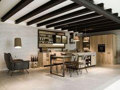 Kitchen Design For Lofts: Modern Idea From Snaidero