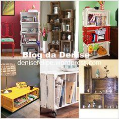 decoraçao casa material reciclavel - Pesquisa Google