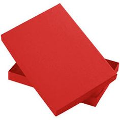 Red A7 Box Mailer