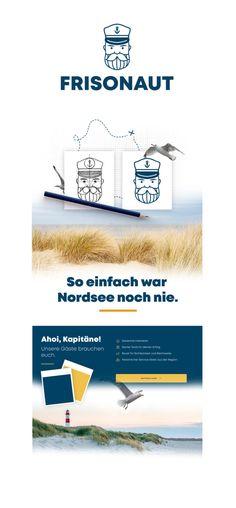 Die Nordsee entdecken auf einzigartige Weise: Die Reederei Frisia AG hat eine Marke entwickelt, mit der jeder Nordsee-Urlaub kinderleicht zum individuellen Vergnügen wird. Unübersichtliche Angebote, komplexe Buchungssysteme und Überforderung vor Ort gehören ab sofort der Vergangenheit an, denn der digitale Reisebegleiter führt jeden Nordsee-Touristen von der ersten Buchung bis hin ins friesische Abenteuer. Ein geniales Konzept – fehlt nur noch ein Name für das Produkt. Das Ergebnis… Logo Design, Ab Sofort, Corporate Design, Branding, Names, Personal Care, North Sea, Tourism, Past