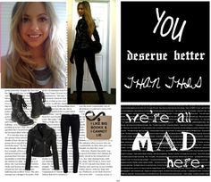 """"""";we're all mad here;"""" by tayzalo on Polyvore"""