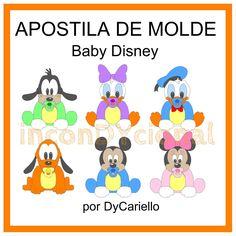 Moldes Baby Disney - Buscar con Google