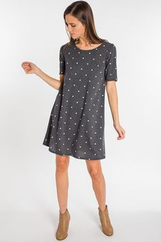 8f7cc9d04c1b Dots For Days Knit Dress. Blue Door BoutiqueSilver ...