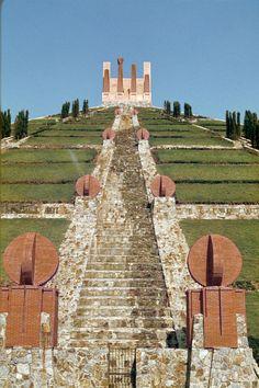 The Pyramid in Spanish-French Border Ricardo Bofill Taller de Arquitectura