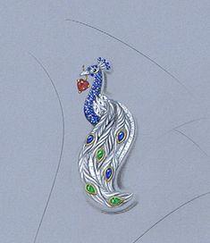 custom susan vreelands peacock