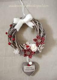 Risultati immagini per ghirlande natalizie fai da te tutorial