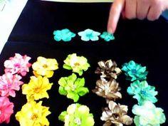 I made flowers!