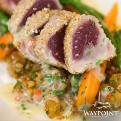 Waypoint Grill selects and serves only the finest meats.  www.waypointgrill.com