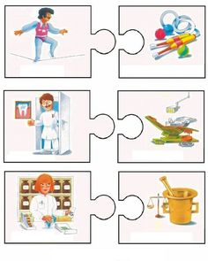 Crafts,Actvities and Worksheets for Preschool,Toddler and Kindergarten.Lots of worksheets and coloring pages. Preschool Puzzles, Preschool Education, Puzzles For Kids, Preschool Crafts, Activities For Kids, Crafts For Kids, Bilingual Kindergarten, Kindergarten Math Worksheets, Learn Greek