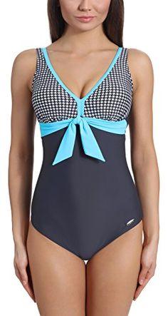 Deal des Tages Einteiliger Damen-Badeanzug = Blitzangebot-Preis für ausgewählte Artikel Verano Damen Badeanzug Veronica (Graphite/Blau, 38) Verano http://www.amazon.de/dp/B01DP6P1YU/ref=cm_sw_r_pi_dp_YFLhxb05QFA04