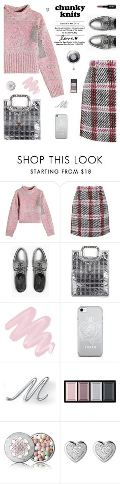 """Get Chunky"" by molly2222 ❤ liked on Polyvore featuring 3.1 Phillip Lim, Carven, Max&Co., Chanel, Obsessive Compulsive Cosmetics, Lands' End, Clé de Peau Beauté, Guerlain, Links of London and chunkyknits"