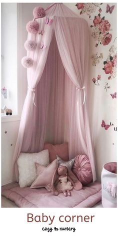 Princess Bed Canopy Mosquito Net #baby #bed #canopy