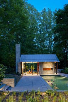 Nevis Pool and Garden Pavilion by Robert M. Gurney