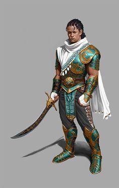 ArtStation - wakanda warrior, hyun noh