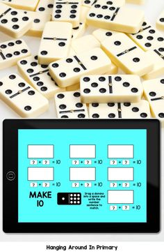 Why not try Digital Morning Work?  Your kindergarten and first grade students will practice math skills like addition and comparing and ordering while playing using dominoes and they won't even realize they are doing math! This Google Slides digital resource is perfect for assigning in Google Classroom or to use as a math center in the classroom. #morningwork #morningtubs #mathtubideasforfirstgrade #mathcentersforfirstgrade #mathwithdominos #firstgrademorningwork Number Sense Activities, Math Games, Math Classroom, Google Classroom, Activity Centers, Math Centers, Fast Finishers, Math Manipulatives, Teacher Inspiration